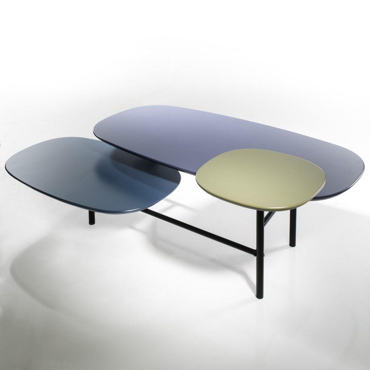 Table Basse 3 Plateaux Guillaume Delvigne La Redoute 200 Dimensions