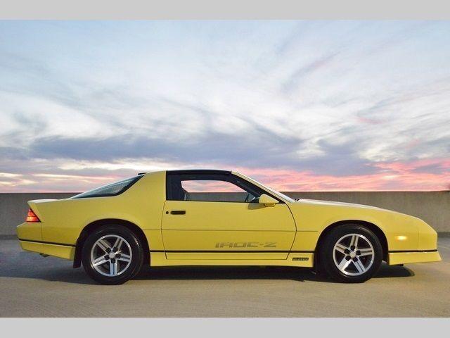 1986 Chevrolet Camaro Iroc Z28 Automatic 2 Door Hatchback For Sale