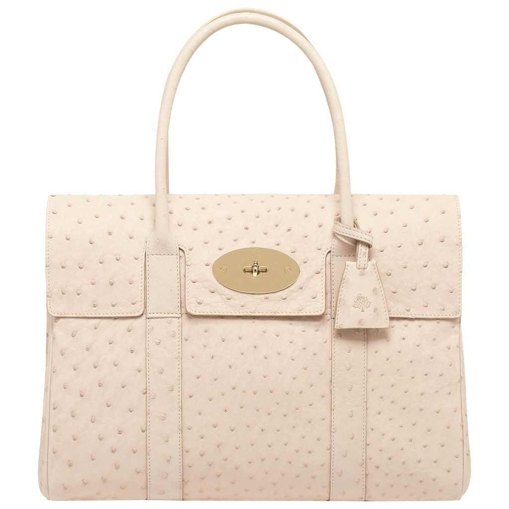 Bayswater in Marshmallow White Ostrich by Mulberry  6,000.00 ... aaac657bdd