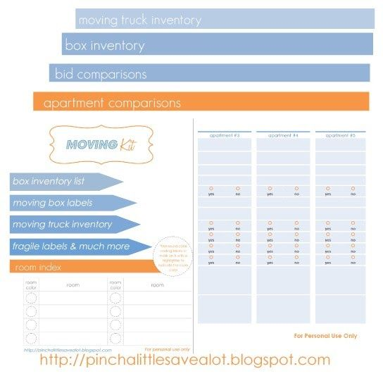 Free Printable  Moving Kit  A Blog Focused On Organizing Diy