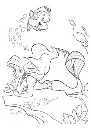 Arielle Die Meerjungfrau Ausmalbilder Ausmalbilder Ausmalbilder Arielle Ausmalbilder Zum Ausdrucken