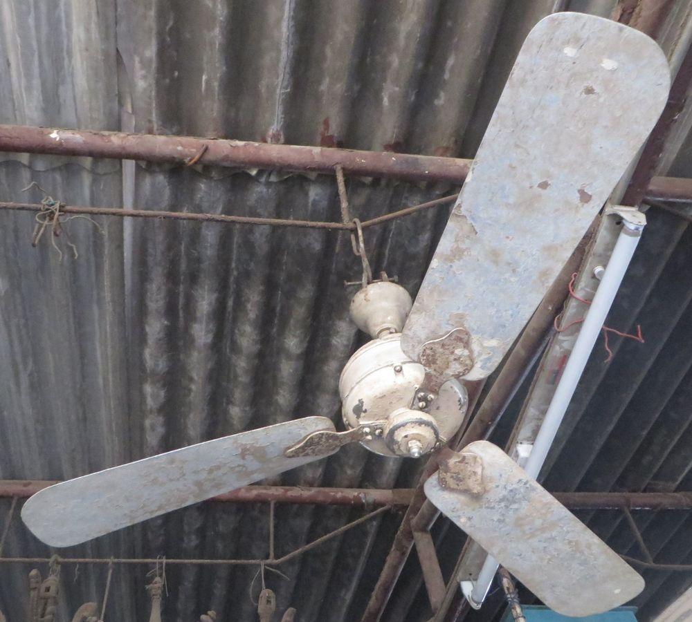 48 Ceiling Fan 3 Aluminium Blades Heavy Motor Iew Logo Ranjeet Brand India Ranjit Classicold