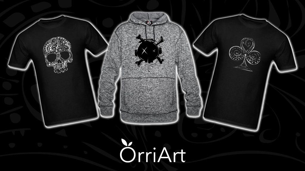 Gore T-Shirts Galore www.orriart.com  #clothesforsale #tshirt #skull #follow #fridayfeeling #orriart