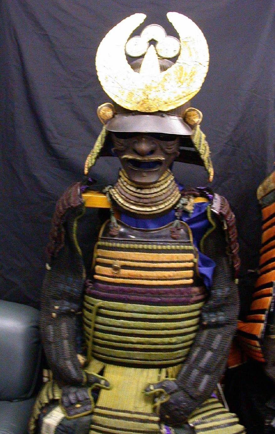 Samurai armor (Yoroi-Kabuto)