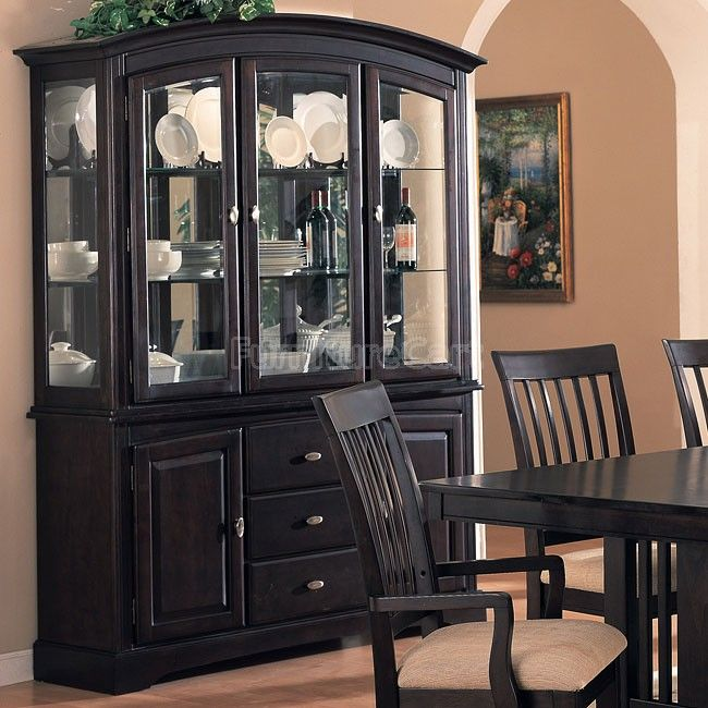 China Buffet Cabinet  Buffet Cabinet  Pinterest  Coaster Amusing Dining Room Set With Hutch Inspiration