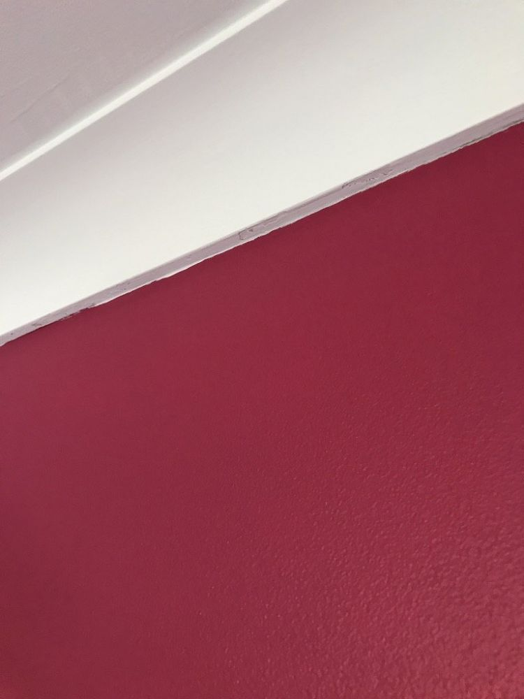 A Simple Trick to Get a Pro Paint Finish on a Feature Wall Best