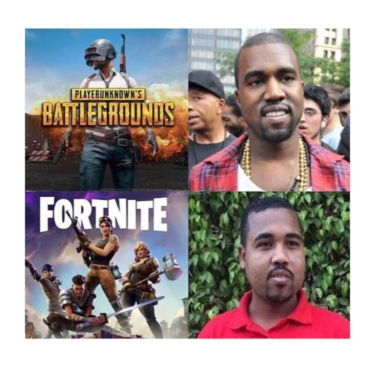 Pubg Vs Fortnite In A Nutshell Funny Games Video Game