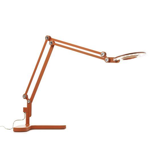 Orange Link Led Desk Lamp Modern Office Furniture Led