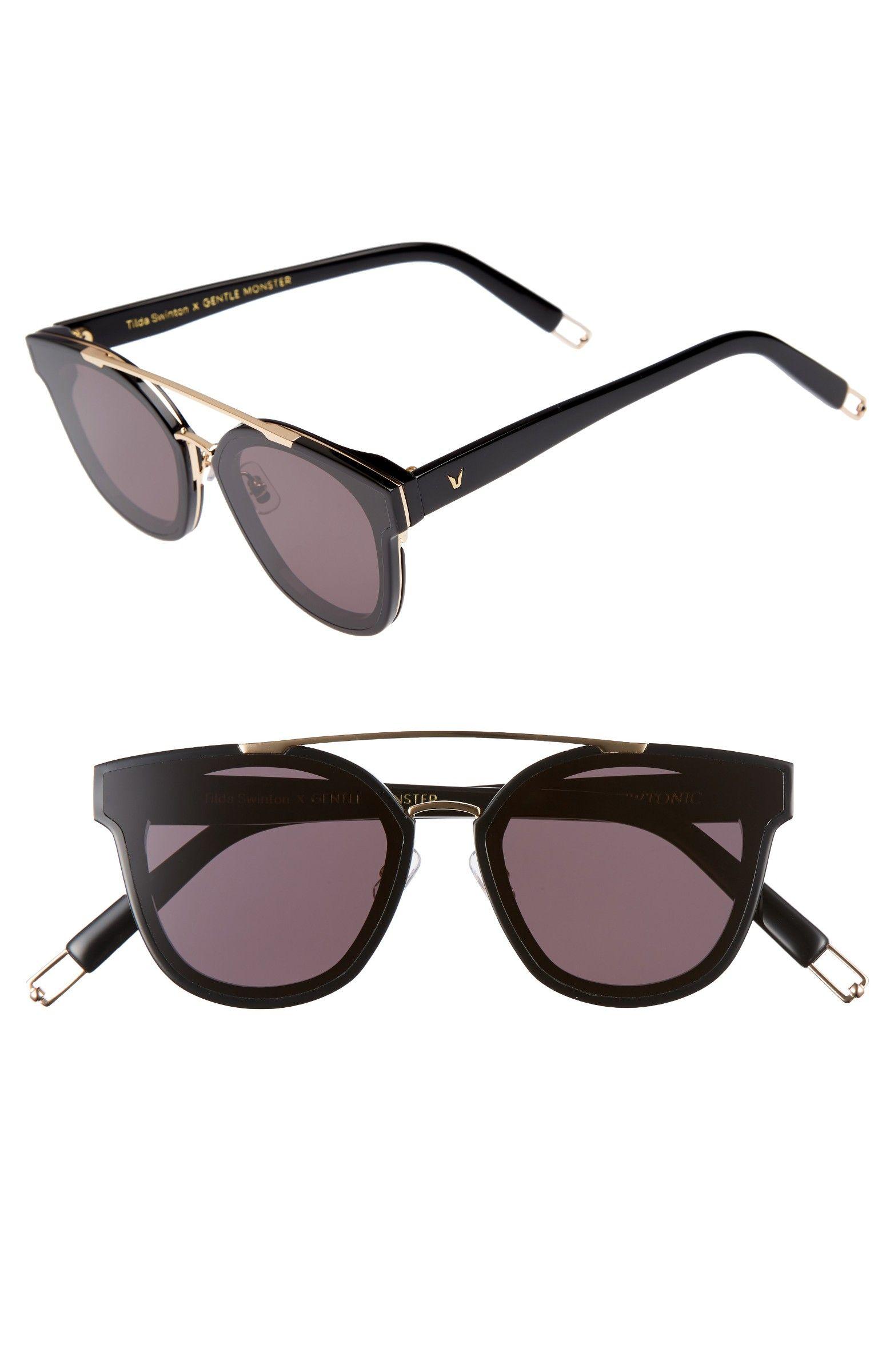 103a93ede9f8 Main Image - Tilda Swinton x Gentle Monster Newtonic 60mm Rounded Sunglasses
