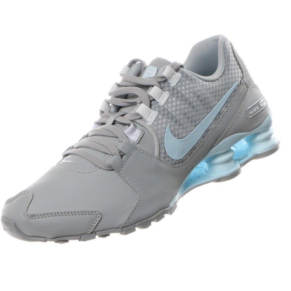 newest e48cf 3053d ... coupon code authentic nike shox avenue wolf grey glacier blue 844131004  women shoes sz f1731 c1111