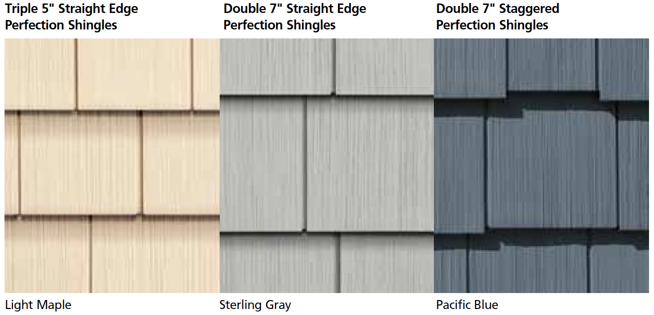 Certainteed cedar impressions polymer shake and shingle for Polymer roofing shingles