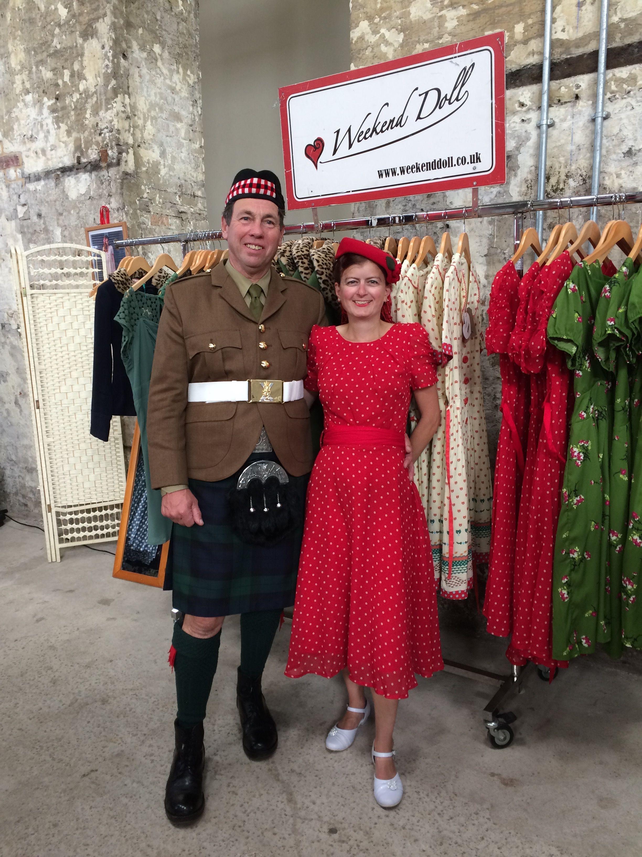 Salute To The 40s Historic Dockyard Grace Chiffon Dress