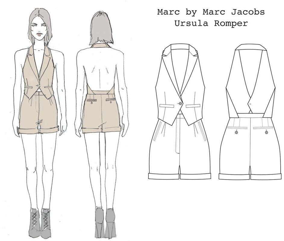 dress flat sketch - Google Search | fashion learning | Pinterest ...
