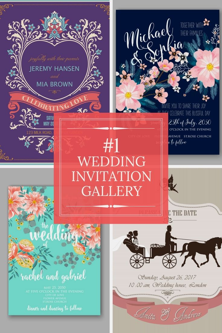 Recommended Wedding Invitation Options - Check-Out Our Wedding ...