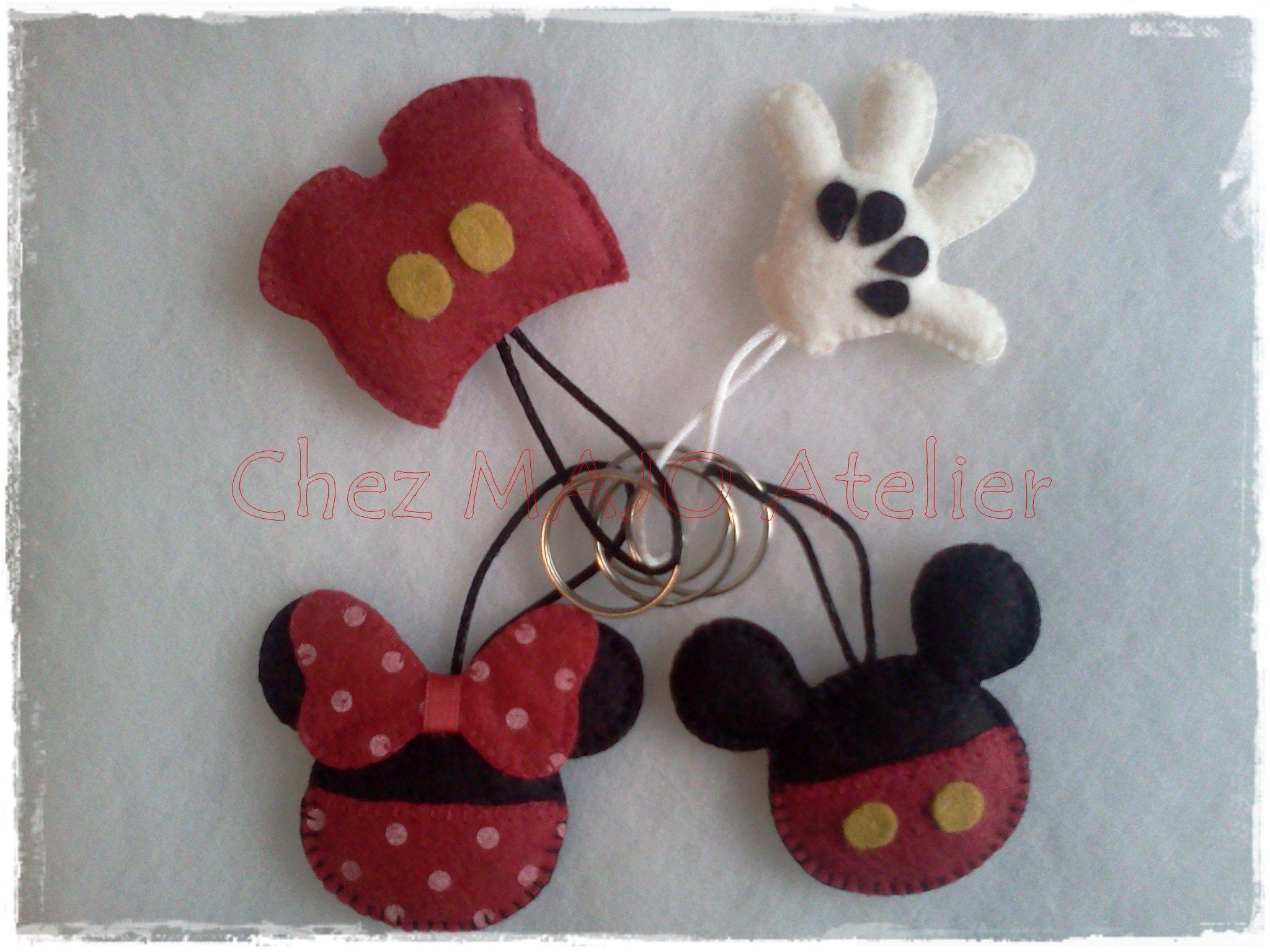 Porta-chaves Disney