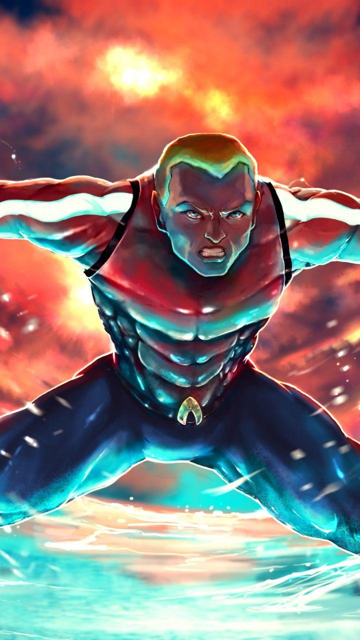 jawdropping wallpaper Aquaman dc superhero art 7201280