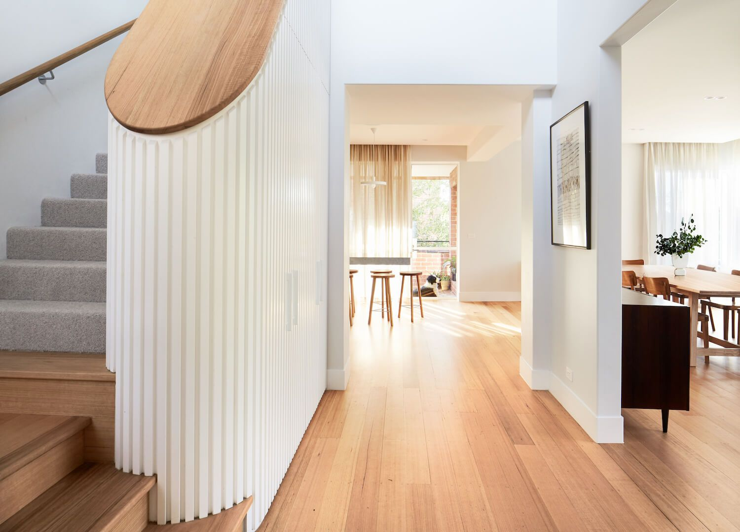Stairs holroyd house by foomann architects est living
