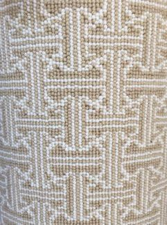 Custom Axminster Carpet Remnant From A Gorgeous Designer Room Beige And White Arabesque Pattern 100 Wool Pe Carpet Remnants Affordable Carpet Carpet Stores
