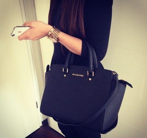 Bag Black Sacs A Main Michael Kors Selma Michael Kors Boutique Michael Kors