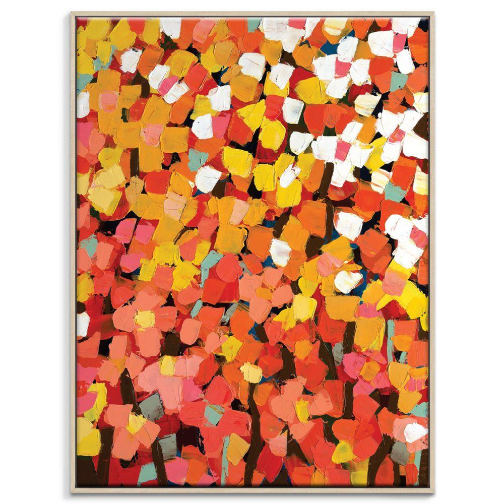 Anna Blatman | Field | Framed Canvas | 77.5x103.5x4.5cm by Anna Blatman by Artist Lane on THEHOME.COM.AU
