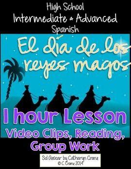 reyes magos 1 hour lesson intermediate advanced spanish middle high school high school. Black Bedroom Furniture Sets. Home Design Ideas