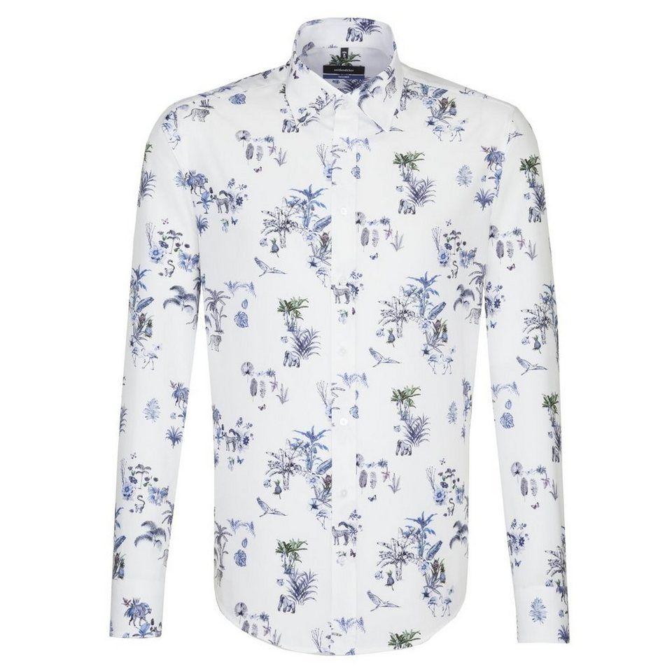 seidensticker Businesshemd »Tailored« Tailored Langarm