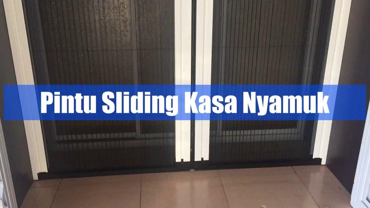 Pintu Sliding Kasa Nyamuk Lipat Door Studio Art Batam Onna