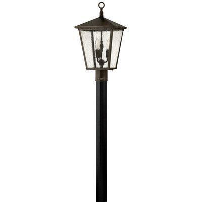 Kaylie Lantern Head Lamp Post Lights Outdoor Post Lights Bulb