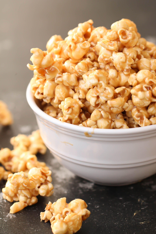 Homemade Caramel Popcorn Recipe Our Mom S Classic Recipe Recipe In 2020 Homemade Caramel Popcorn Popcorn Recipes Popcorn Recipes Caramel