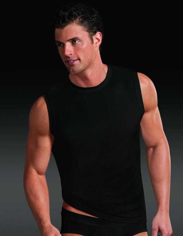 047728ca New: Microfiber Athletic Shirt from Jockey, fantastic looking muscle shirt  which is lightweight,