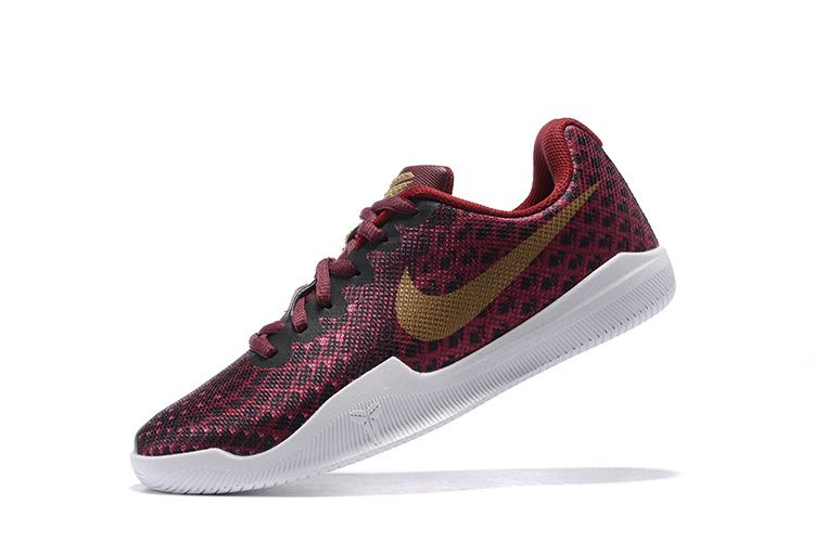 quality design 92438 e726b 2018 Best Quality WMNS Kobe Mamba Instinct Mentality 3 Basketball Shoes  Burgundy Black Gold