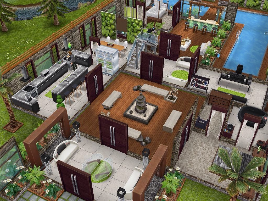 House design sims - House 63 Level 1 Sims Simsfreeplay Simshousedesign