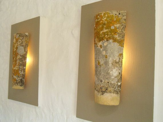 Uplighters French Antique Roof Tile Created Into Ambient Wall Lights Wall Lights Roof Tiles I Love Lamp