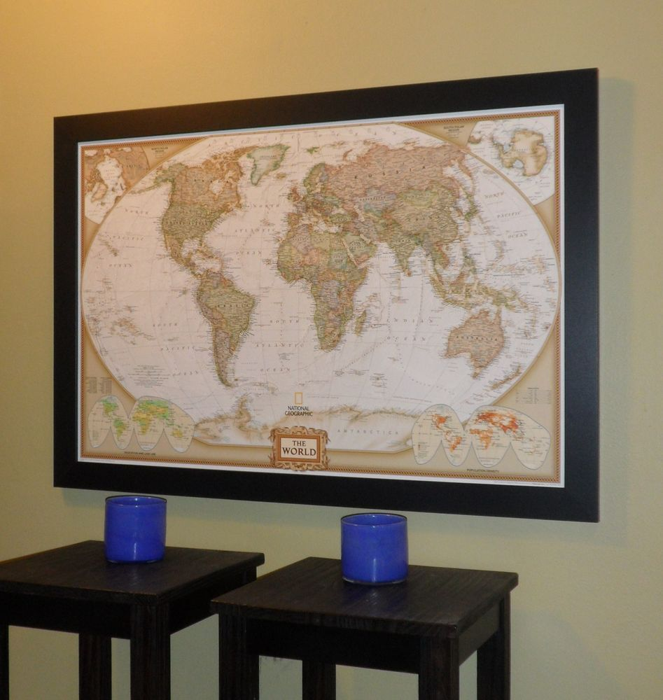 Push pin world travel map on satin black frame sharon and mike push pin world travel map on satin black frame gumiabroncs Image collections