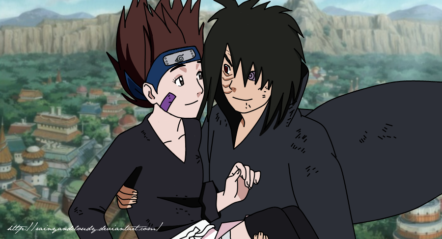 rin and obito | Galler...