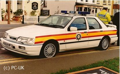 Sussex Police Ran A Fleet Of Cosworth Sierra Sapphires Police