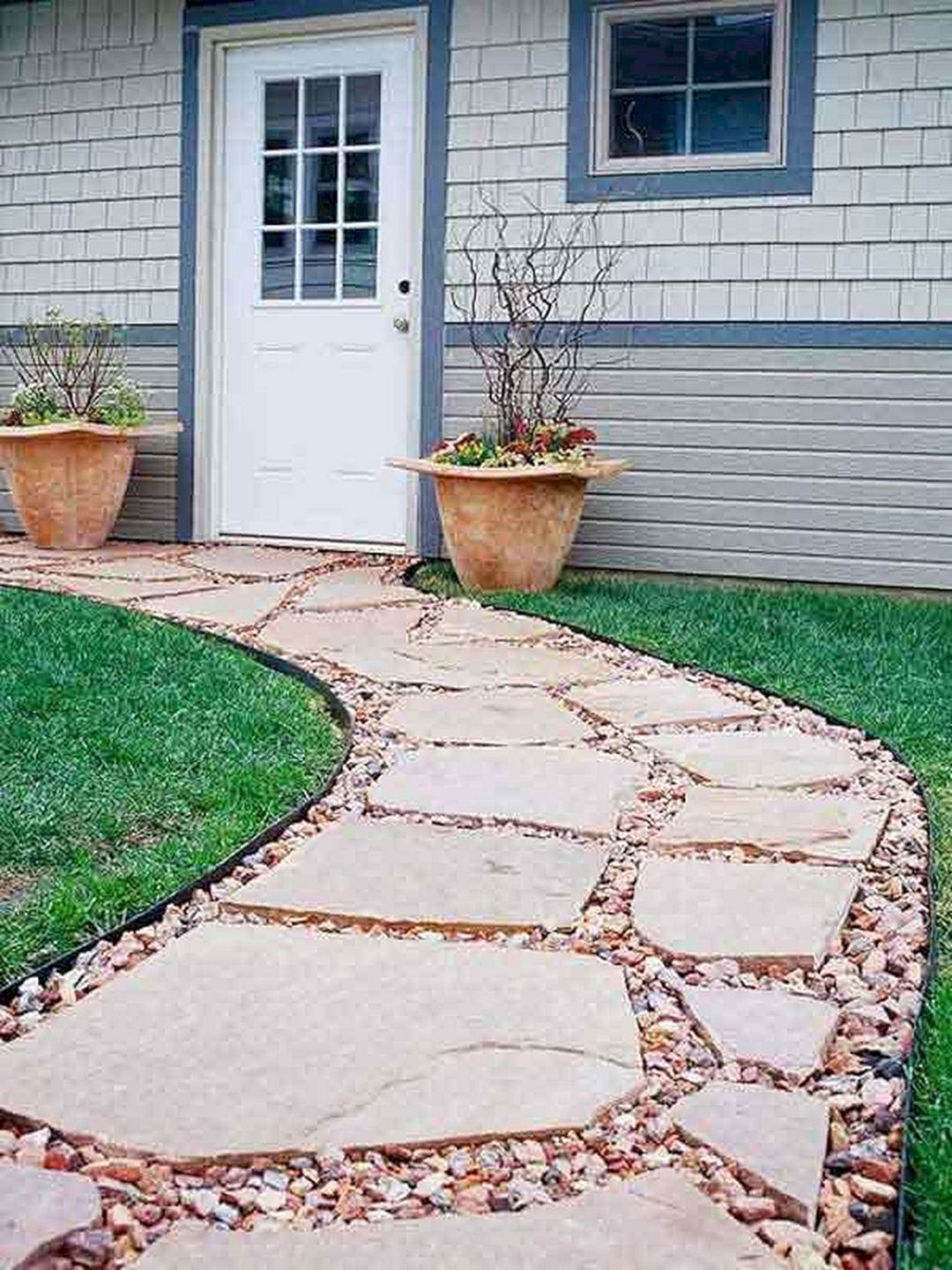 13 beautiful stepping stone path ideas you need to install on extraordinary garden stone pathway ideas to copy id=50800