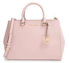 Michael Kors light pink tote bag fdac2b0ad64b6