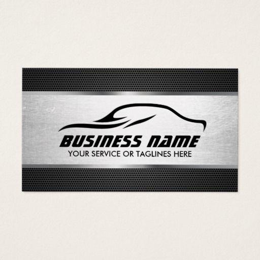 Automotive auto repair cool silver professional business card automotive auto repair cool silver professional business card reheart Gallery