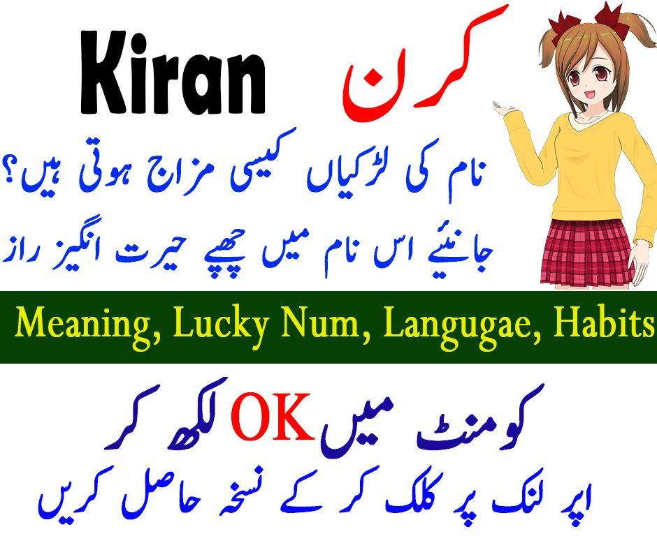 Kiran Name Meaning In Urdu In 2020 Names With Meaning Meant To Be Muslim Boy Names