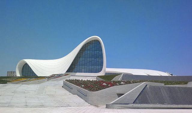Zaha Hadid Heydar Aliyev Cultural Center Baku Azerbaijan Zaha Hadid World Architecture Festival Zaha Hadid Buildings