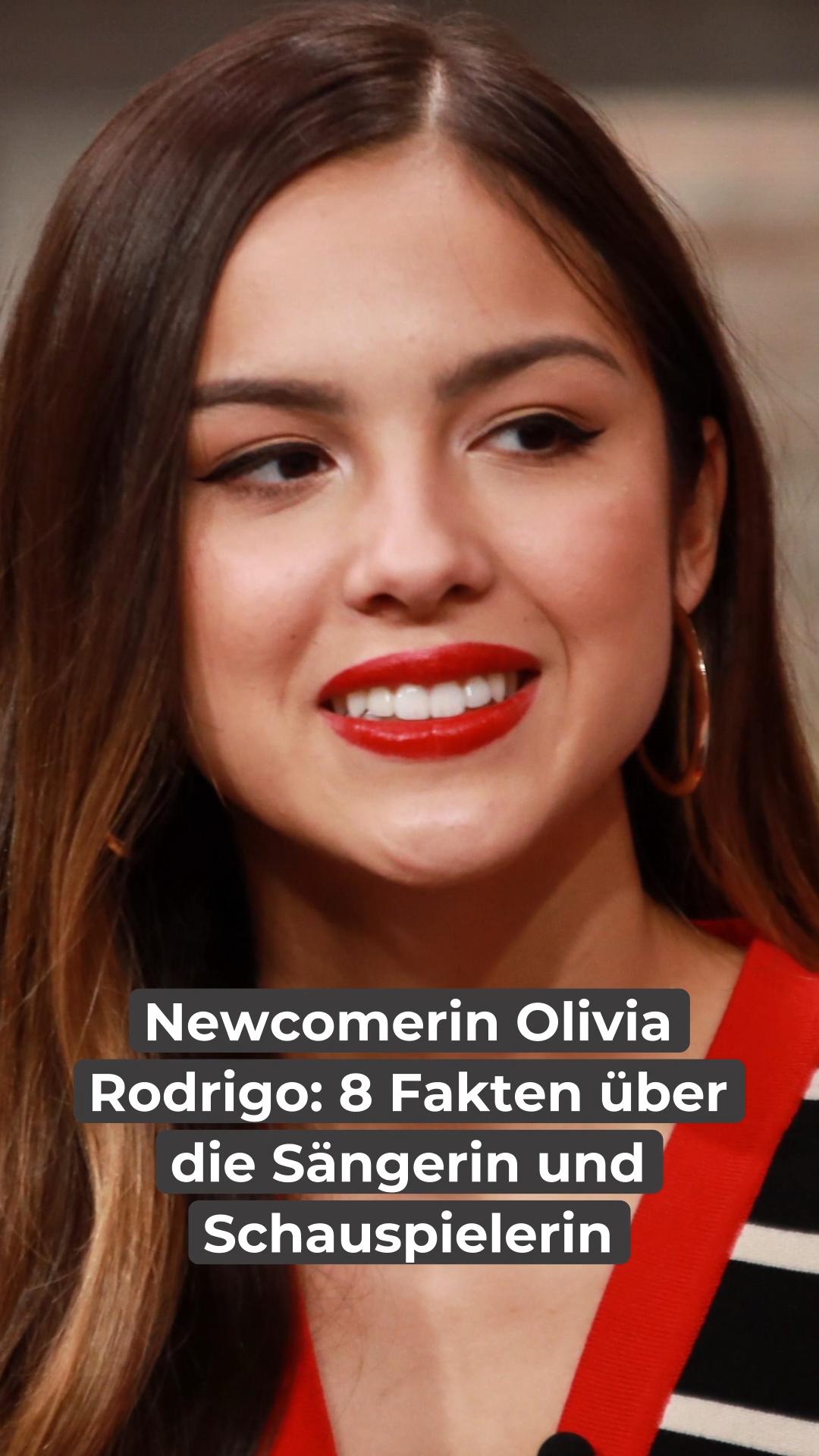 Newcomerin Olivia Rodrigo 8 Fakten Uber Die Sangerin Video Video In 2021 Schauspieler Sangerin Fakten
