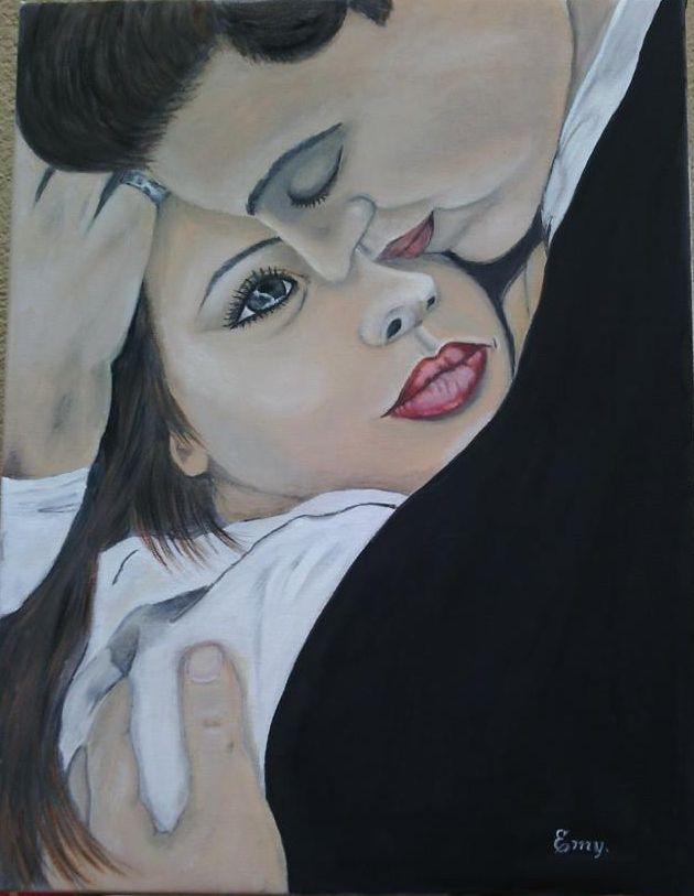 """""""L'Amore """" olio su tela"""