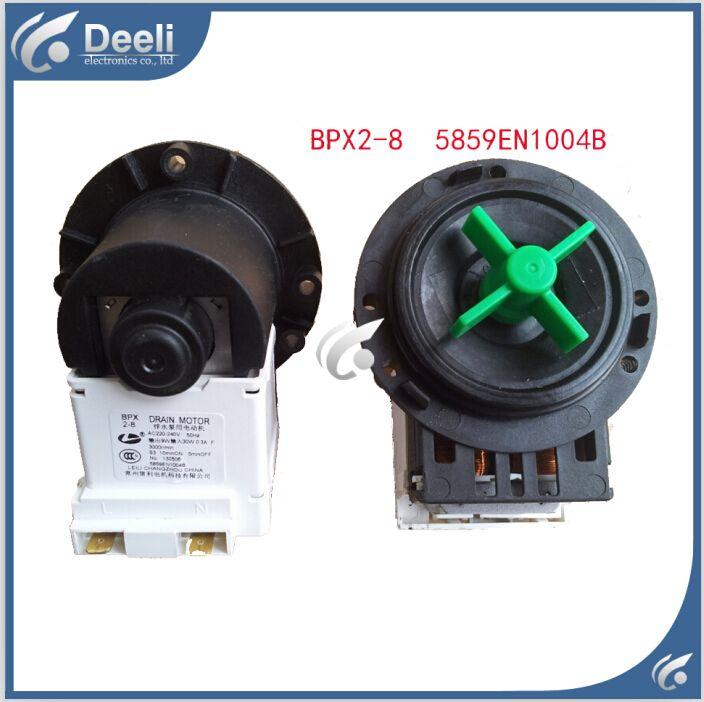 1pcs New Original For Washing Machine Parts Drain Pump Bpx2 8