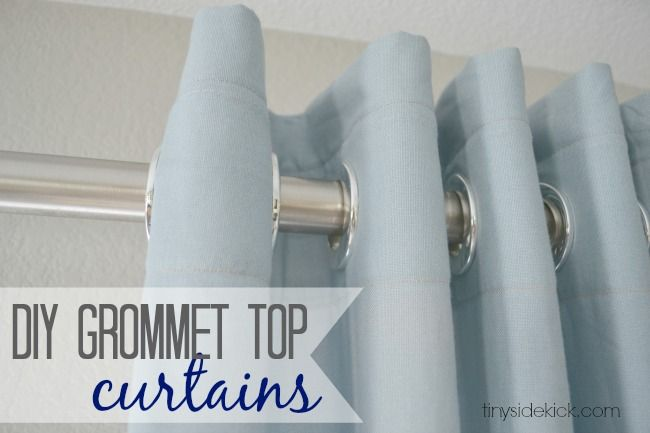 Curtains Ideas curtain grommets diy : 17 Best images about Curtains on Pinterest | Drop cloth curtains ...