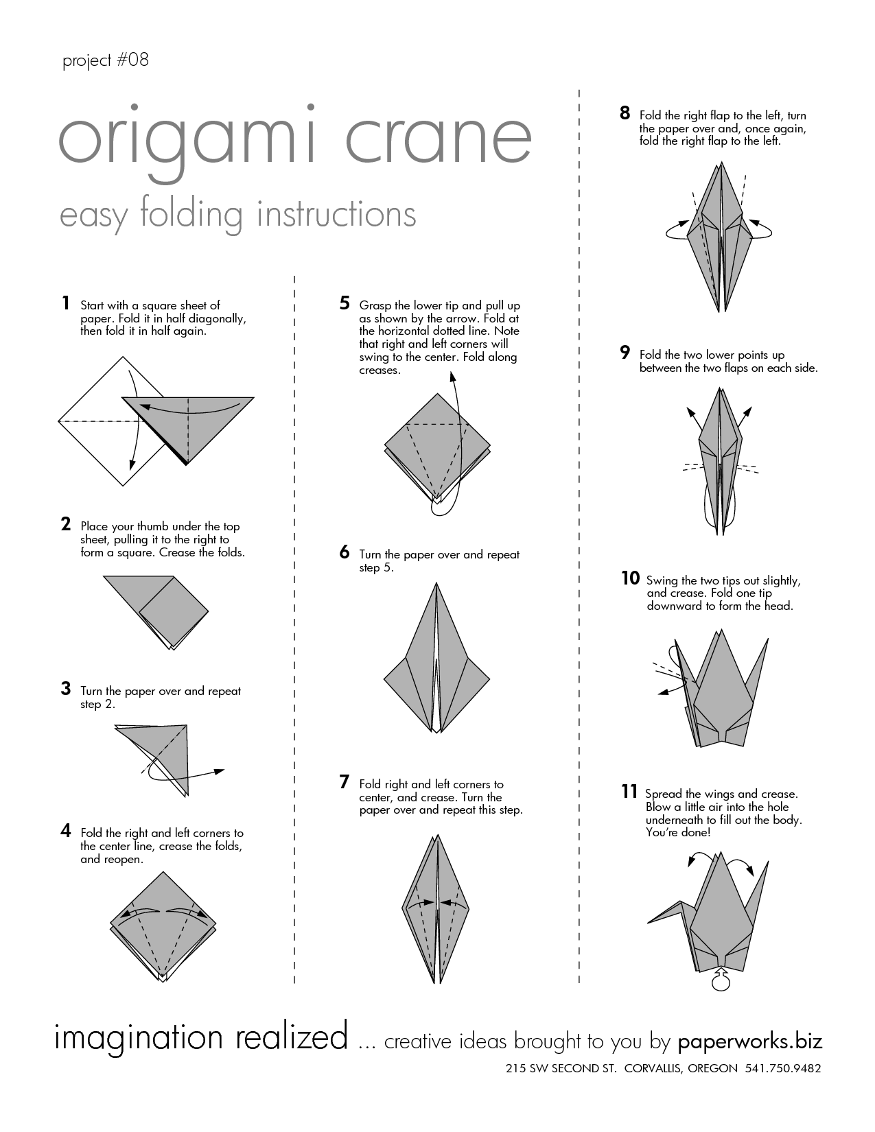 DIY How To Make Origami Crane For KIDS - Easy & Simple Origami ... | 1650x1275