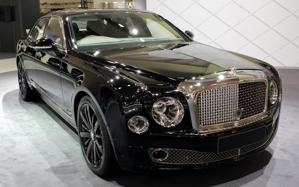 Bentley Mulsanne All Black Choose The Size Of Wallpaper Auto Carros Of Wallpaper