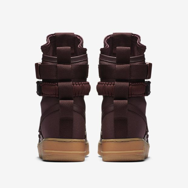 864024-600 Nike SF Air Force 1 High Deep Burgundy #nike #airforce #