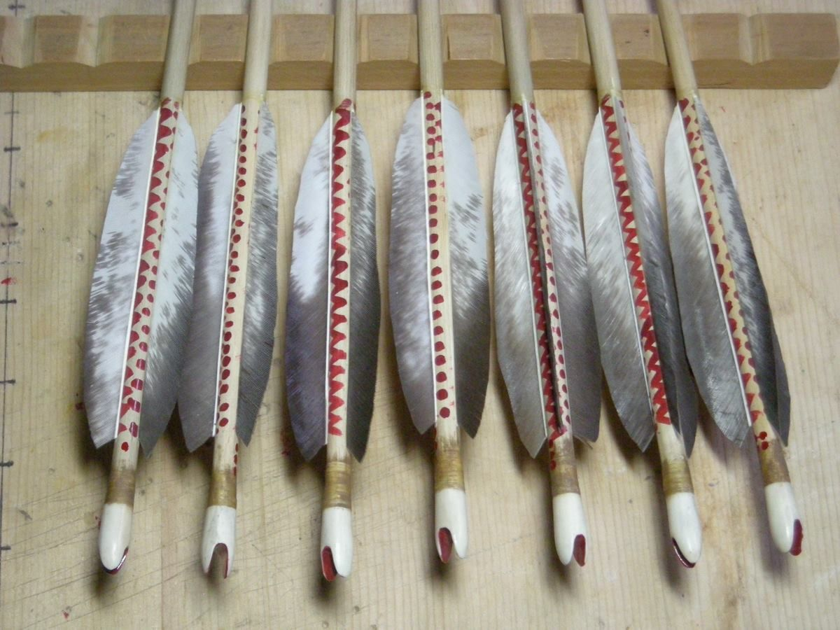 scythian arrow reconstruction