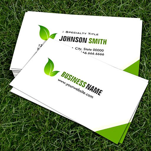 Green Ecology Bio Elegant Organic Recyclable Business Card Templates Green Business Card Template Unique Business Cards